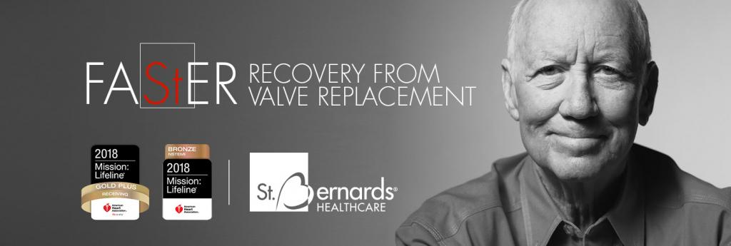 FASTER RECOVERY FROM VALVE REPLACEMENT