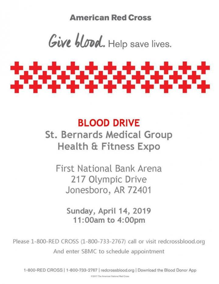 American Red Cross at Expo on Sunday, April 14