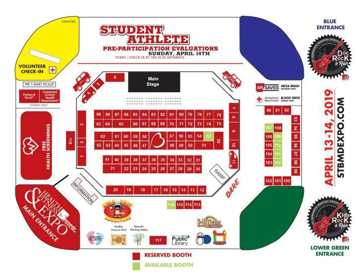 Expo Map as of March 14