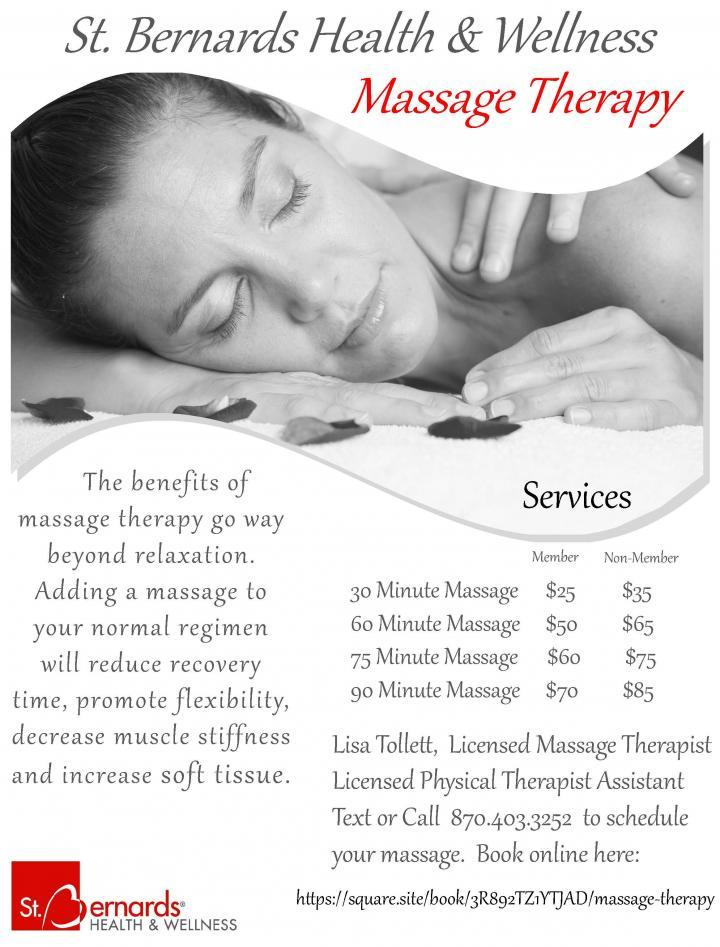 Massage Therapy with Lisa Tollett