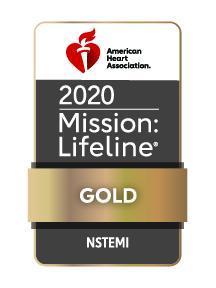 2020 Mission Lifeline NSTEMI Gold